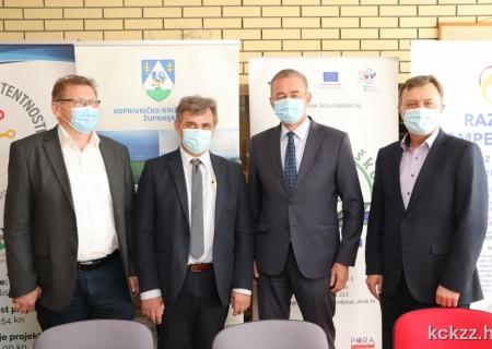 U Đurđevcu potpisan ugovor za dogradnju i rekonstrukciju Strukovne škole u sklopu županijskog Centra kompetentnosti