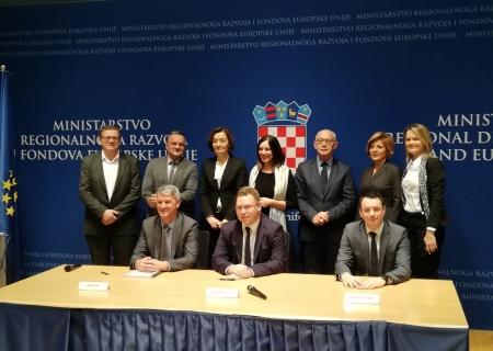 Potpisan ugovor o dodjeli 30 milijuna kuna za uspostavu Centra kompetentnosti u Koprivničko-križevačkoj županiji