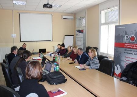 Projektni tim za Centar kompetentnosti u Koprivničko-križevačkoj županiji održao sastanak  o provedbi novih aktivnosti